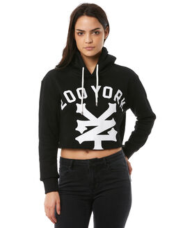 BLACK OUTLET WOMENS ZOO YORK JUMPERS - ZY-WFA8325BLK