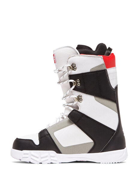 BLACK/WHITE BOARDSPORTS SNOW DC SHOES BOOTS + FOOTWEAR - ADYO200041-BKW