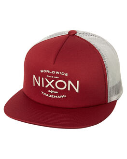 CABERNET MENS ACCESSORIES NIXON HEADWEAR - C26242742