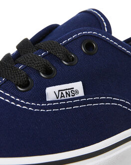 MEDIEVAL BLUE BLACK KIDS BOYS VANS SNEAKERS - VNA38H3U3YBLU