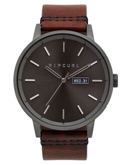 GUNMETAL MENS ACCESSORIES RIP CURL WATCHES - A30840036