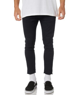 ULTRA BLACK MENS CLOTHING THE PEOPLE VS PANTS - AW19068-UBULBLK