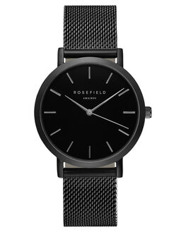 BLACK WOMENS ACCESSORIES ROSEFIELD WATCHES - MBB-M43BLK