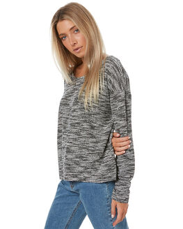 BLACK SPECKLE WOMENS CLOTHING THE HIDDEN WAY KNITS + CARDIGANS - H8173147CRM