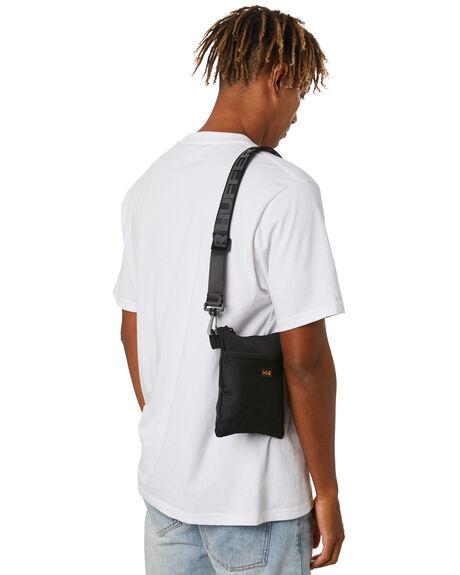 BLACK MENS ACCESSORIES HUFFER BAGS + BACKPACKS - ABA03S4869BLK