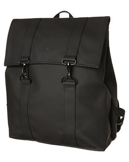 BLACK MENS ACCESSORIES RAINS BAGS - 12130104BLK