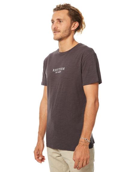 CHARCOAL MENS CLOTHING RHYTHM TEES - JUL17-TS03-CHA