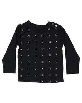 BLACK KIDS BABY TINY TRIBE CLOTHING - TTF19-11098ABLK