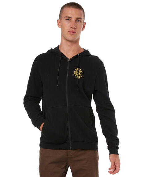BLACK MENS CLOTHING HURLEY JUMPERS - 894972010