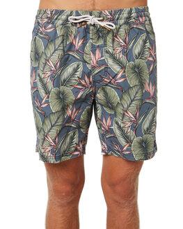 PARADISE NAVY MENS CLOTHING BARNEY COOLS BOARDSHORTS - 808-CR2PNVY