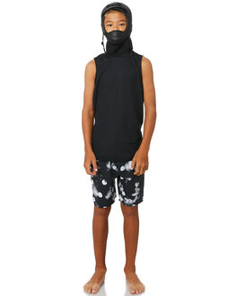 BLACK BOARDSPORTS SURF XCEL BOYS - AJC402H7BLK