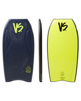 BLUE YELLOW SURF BODYBOARDS VS BODYBOARDS BOARDS - V18IGNITE41MBBLUYW