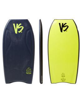 BLUE YELLOW SURF BODYBOARDS VS BODYBOARDS BOARDS - V18IGNITE43MBBLUYW