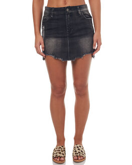 GREY WOMENS CLOTHING RES DENIM SKIRTS - RW3007GREGRE