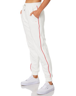WINTER WHITE WOMENS CLOTHING HUFFER PANTS - WPA91S7101WHT