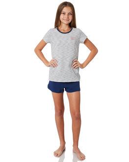 MEDIEVAL BLUE KIDS GIRLS ROXY SHORTS + SKIRTS - ERGBS03053BTE0