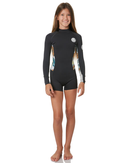 CHARCOAL GREY BOARDSPORTS SURF RIP CURL GIRLS - WSP8DJ0084