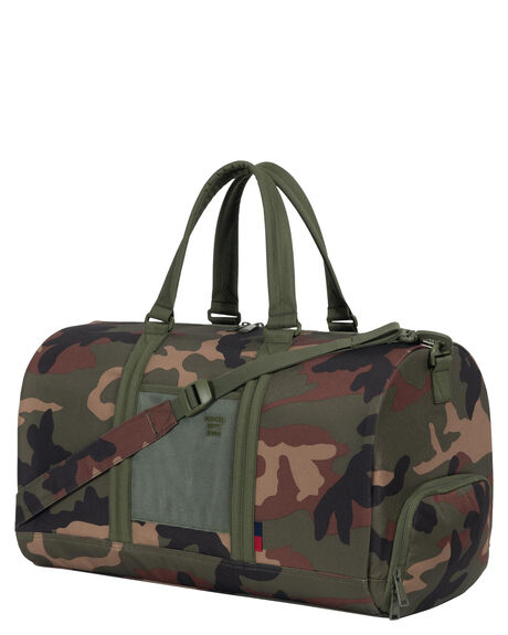 WOODLAND CAMO MENS ACCESSORIES HERSCHEL SUPPLY CO BAGS + BACKPACKS - 10026-02337-OSWOOD