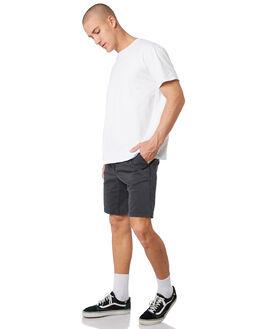 WASHED BLACK MENS CLOTHING DEPACTUS SHORTS - D5193232WBLK