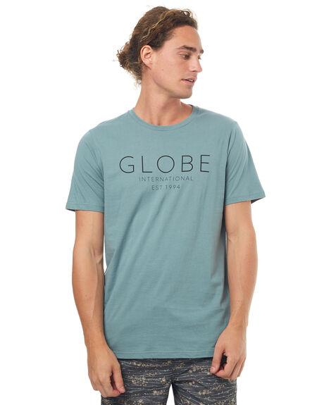 BREEZE GREEN MENS CLOTHING GLOBE TEES - GB01710016BGRN