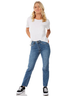 VINTAGE BLUE WOMENS CLOTHING THRILLS JEANS - WTDP-407VEVNTBL