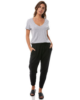 BLACK WOMENS CLOTHING ELWOOD PANTS - WEC601BLK