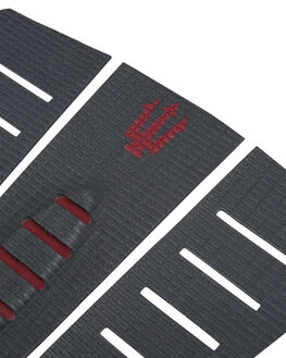 CHARCOAL RED BOARDSPORTS SURF FK SURF TAILPADS - 1206CHRED
