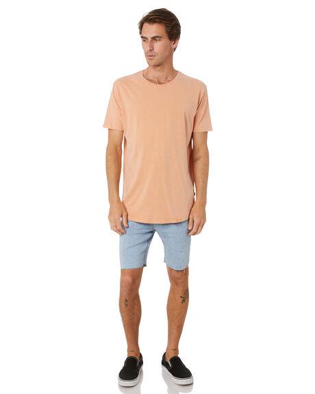 PEACH MENS CLOTHING SILENT THEORY TEES - 40X0045PEAC