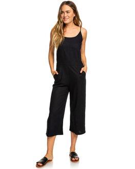 TRUE BLACK WOMENS CLOTHING ROXY PLAYSUITS + OVERALLS - ERJWD03307KVJ0