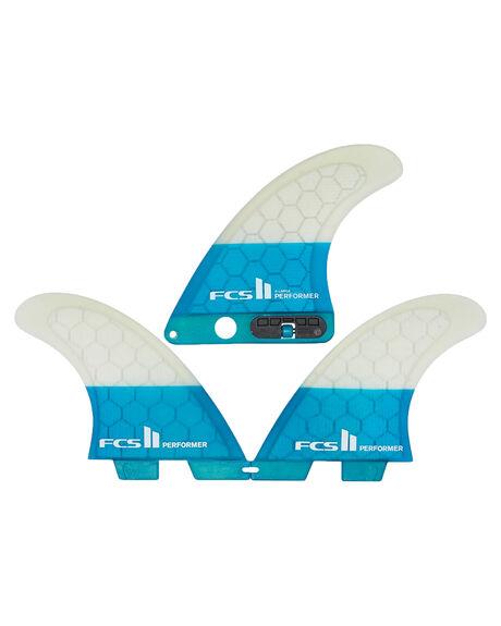 TEAL BOARDSPORTS SURF FCS FINS - FPER-PCS2-XL-TS-RTEA