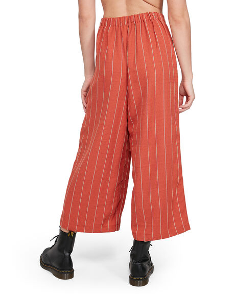 RED RUST WOMENS CLOTHING ELEMENT PANTS - EL-205262-RDT