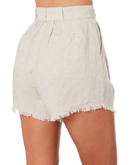 SAND WOMENS CLOTHING THE HIDDEN WAY SHORTS - H8201231SAND