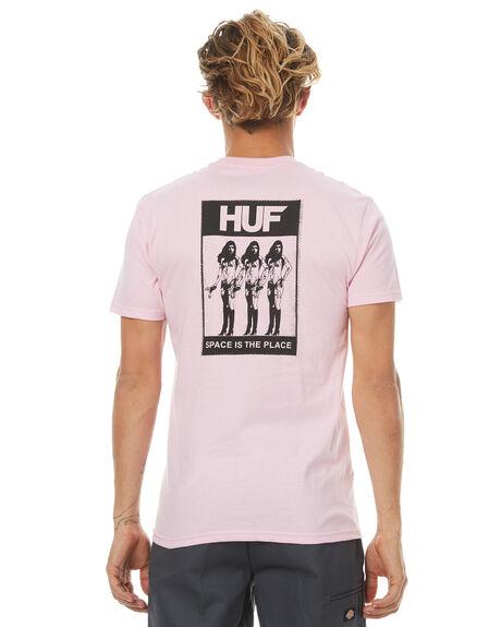 PINK MENS CLOTHING HUF TEES - TS00078PINK
