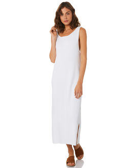 WHITE WOMENS CLOTHING ZULU AND ZEPHYR DRESSES - ZZ2291WHT