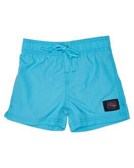 MAUI BLUE KIDS TODDLER BOYS RUSTY BOARDSHORTS - BSR0236MBU