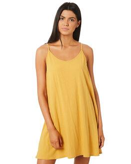 HONEY WOMENS CLOTHING RUSTY DRESSES - DRL0912HON