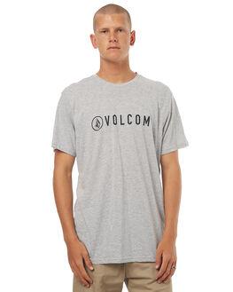 GREY MARLE MENS CLOTHING VOLCOM TEES - A57117G0GRM