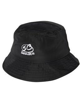bff0d40767a BLACK MENS ACCESSORIES SANTA CRUZ HEADWEAR - SC-MCA9110BLK. SANTA CRUZ 1  Pro Series Bucket Hat