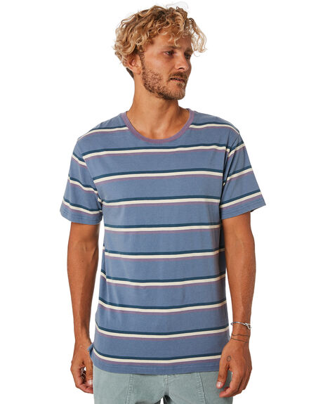 FADED BLUE MENS CLOTHING THE CRITICAL SLIDE SOCIETY TEES - TE18112FDBLU