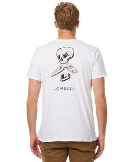 WHITE MENS CLOTHING SWELL TEES - S5174008WHT