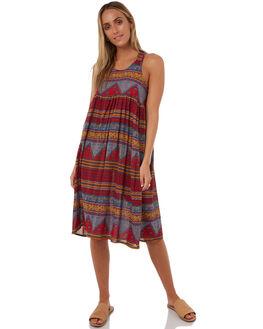 SERENE STRIPE WOMENS CLOTHING THE HIDDEN WAY DRESSES - H8182441SEREN