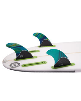 GREEN BOARDSPORTS SURF FUTURE FINS FINS - LOM-021406GRN