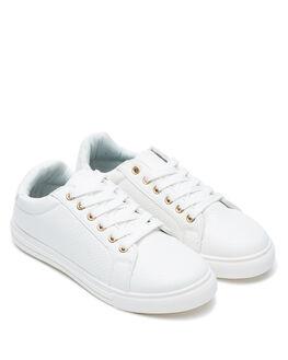 WHITE WOMENS FOOTWEAR BETTY BASICS SNEAKERS - BB936W20WHT