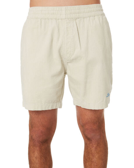 VINTAGE WHITE MENS CLOTHING DEUS EX MACHINA SHORTS - DMP93169VINWH