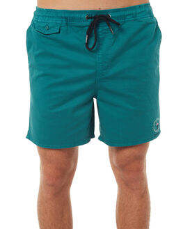 LCD GREEN MENS CLOTHING RVCA SHORTS - R172314LCDGN