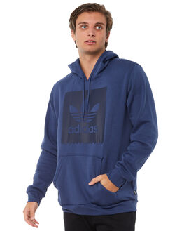 NOBLE INDIGO MENS CLOTHING ADIDAS ORIGINALS JUMPERS - CW2357NIND
