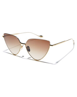 GOLD WOMENS ACCESSORIES SUNDAY SOMEWHERE SUNGLASSES - SUN700440063
