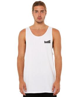 WHITE MENS CLOTHING SWELL SINGLETS - S5183272WHITE