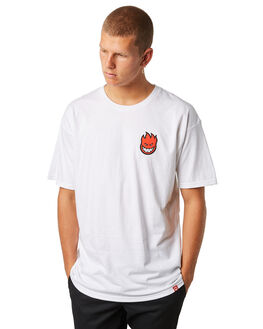 WHITE MENS CLOTHING SPITFIRE TEES - 51010388HWHT