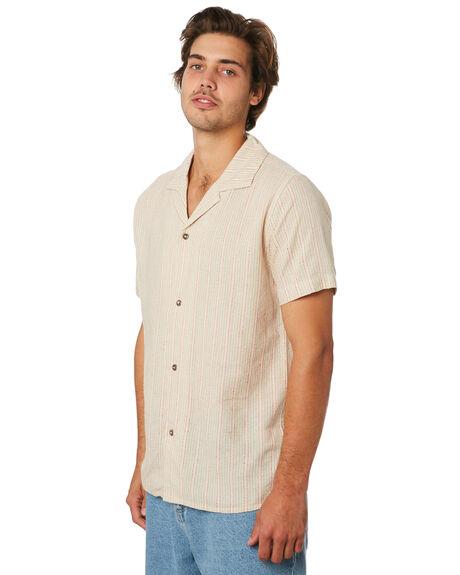 NATURAL MENS CLOTHING RHYTHM SHIRTS - JUL19M-WT05-NAT